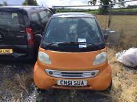 Smart Car for Spares or Repair
