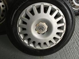 Astra wheels and tyres 195 65 15