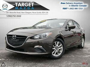 2015 Mazda Mazda3 GS! AUTO! BACKUP CAM! HEATED SEATS! NEW TIRES!