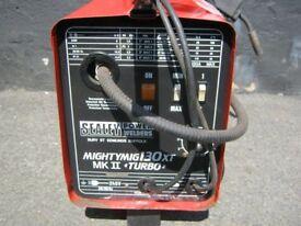 Sealey Mighty Mig 130 XT Turbo Mig Welder - Ready to Go !!