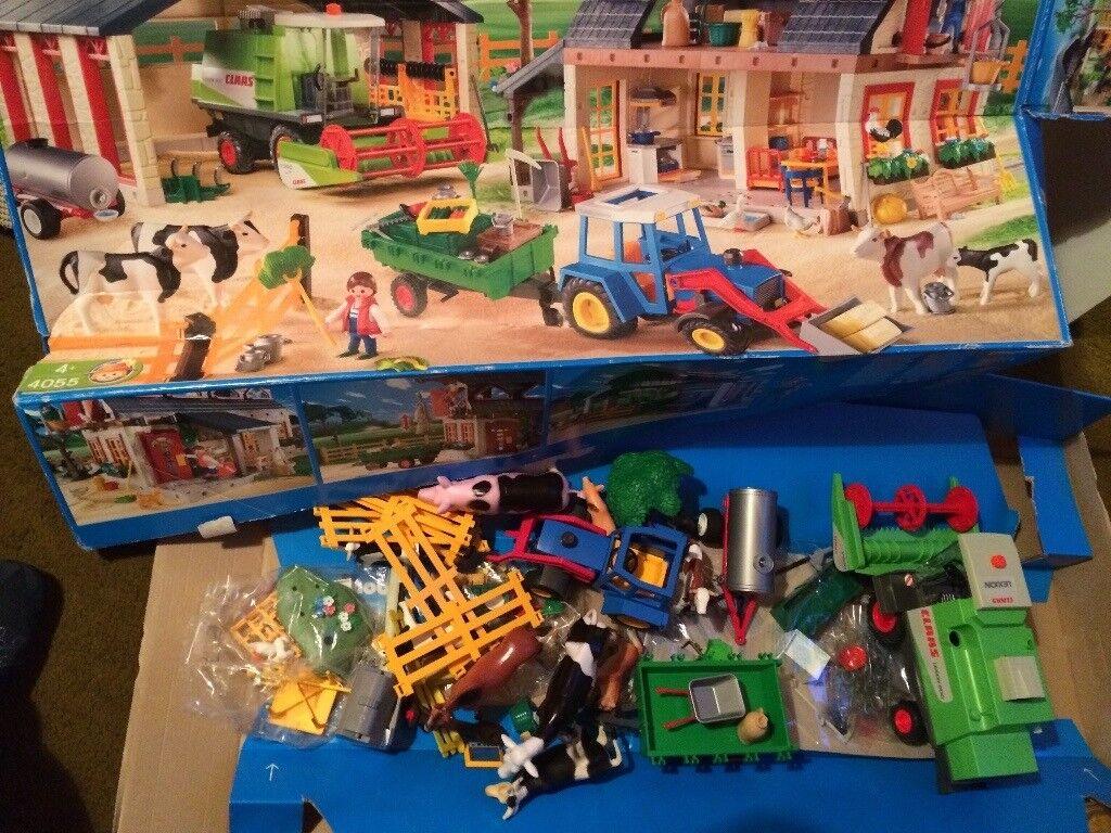 Playmobile Mega Farm 4055