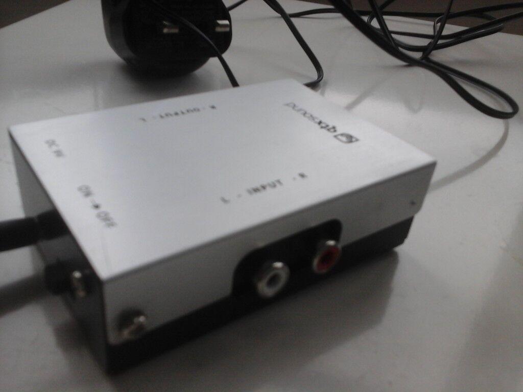 qtx sound pre amplifier