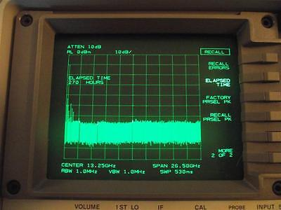 Agilent Hp 8563e Spectrum Analizer Very Low Hours Options 005 007