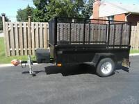 MULTI PURPOSE UTILITY TRAILER W/REMOVABLE SIDES, AND CAR TRAILER