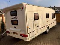 2005 BAILY PAGEANT SERIES 5 BRETAGNE 6 BERTH FIXED BUNK BEDS TOURING CARAVAN