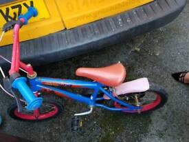 Spider man kids bike