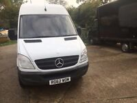 mercedes sprinter 313 cdi LWB. .62 reg.one owner.excellent condition .new mot