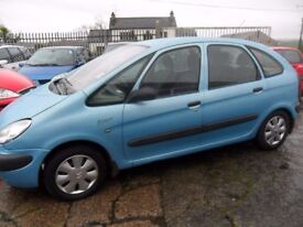 citroen pissaco parts from 3 cars 2.0 hdi & 1.6 hdi blue grey & red