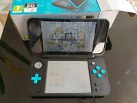 2DS XL Console with Super Mario 2