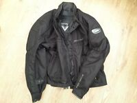 Frank Thomas Mens Motorcycle Jacket