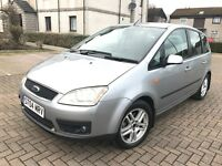 JUST *65000 GENUINE MILEAGE* FORD C-MAX, FULL YEAR MOT, FULL SERVICE HISTORY