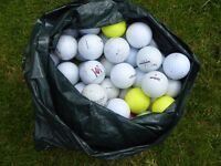 100 golf balls for practice