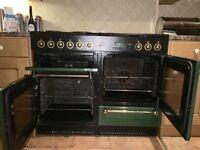 Dark Green Electric Rangemaster 110