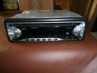 JVC car radio and cd player