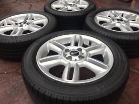 "Genuine 16"" BMW Mini Cooper 6 Twin Star JCW Alloy wheel & Michelin tyres 4-7mm"