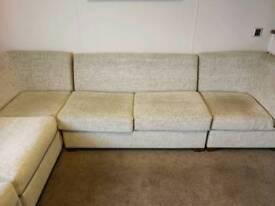 Corner suite with sofa bed