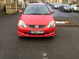 honda civic type r 2004 facelift in red bottom end knock at 3000 revs