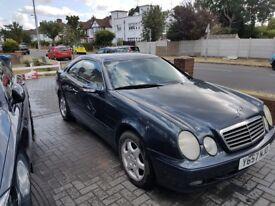 Mercedes-Benz CLK230 Elegance Auto 2001