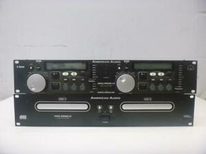 American Audio Dual CD Player - We Buy And Sell Pro-Audio - 117381 - MH318404