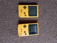 GAME BOY pocket and colour