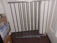 stair safety gates with fittings, top and bottom