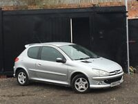 ★ PEUGEOT 206 SPORT + LOW 59K MILES ★IDEAL FIRST CAR