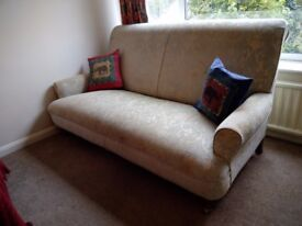 3 seater MultiYork sofa - pale green/cream