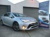 TOYOTA AVENSIS 1.6 D-4D 110BHP 6 Speed BUSINESS EDITION (silver) 2017