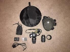 Nikon D5000 + Accessory Bundle