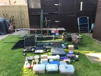 Carp Fishing Tackle Set up excellent condition LONG EATON