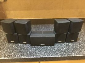 Bose Acoustimass 5/10/15 Home Theater Speaker cubes only