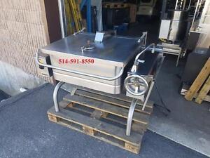 Braisiere Electrique 30 Gallon PERFECT Groen Tilting Skillet electric