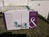 Cook & Lewis chrome bath mixer