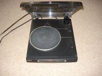 Black Sony Turn table