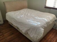 Double Bed and Mattress for Free