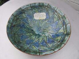 Large handmade bowl