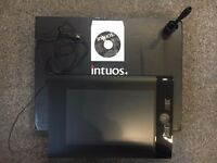 Wacom graphics tablet - Large Intuso4 - Hardly been used - original box - £110