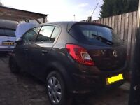 2013 vauxhall corsa cat d salvage spair or repair start and drive 22000 miles