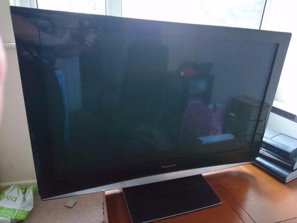 Panasonic Viera Th 46pz80b 46 Plasma Tv 1080p Full Hd Good Working Of Display Condition