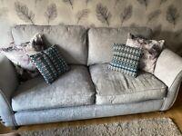 SCS Grey Sofas