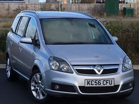 2006 Vauxhall Zafira 2.2 Design, 7 seats *FULL SERVICE HISTORY*12 MONTHS MOT*
