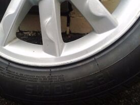 modus alloy with tyre