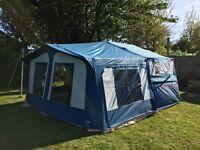 Pennine Fiesta 2+2 Folding camper, Trailer tent
