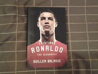 Hardback Book. CRISTIANO RONALDO - THE BIOGRAPHY.