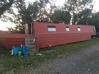 Narrow boat project