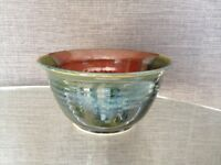 BOWL with LEAF MOTIF made in New Brunswick