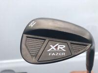 Fazer XR Black Nickel Wedge, as new 64 Degree with new golf pride grip