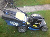 petrol lawnwower
