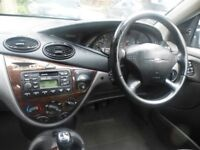 Ford Focus Estate Ghia 1999 .Clean condition , with LPG conversion. car needs attention.
