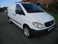 MERCEDES VITO COMPACT 2010 109CDTI ALLOYS 9 MONTHS MOT NO VAT MAY PX SWAP CAR VAN WHY